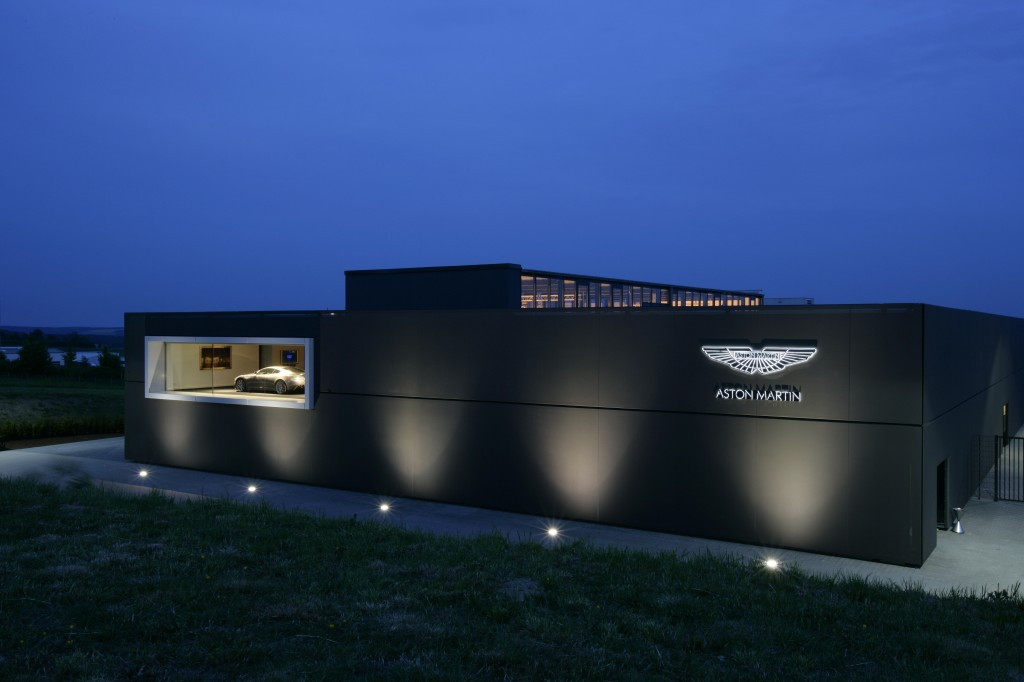 ASTON MARTIN TEST CENTRE WINS DESIGN AWARD
