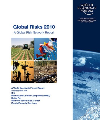 """GLOBAL RISKS 2010"": WORLD ECONOMIC FORUM, FROM DAVOS A WARN..."