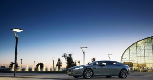 "ASTON MARTIN RAPIDE STEPS OUT IN STYLE WINNING ""THE MOST BEAUTIFU..."
