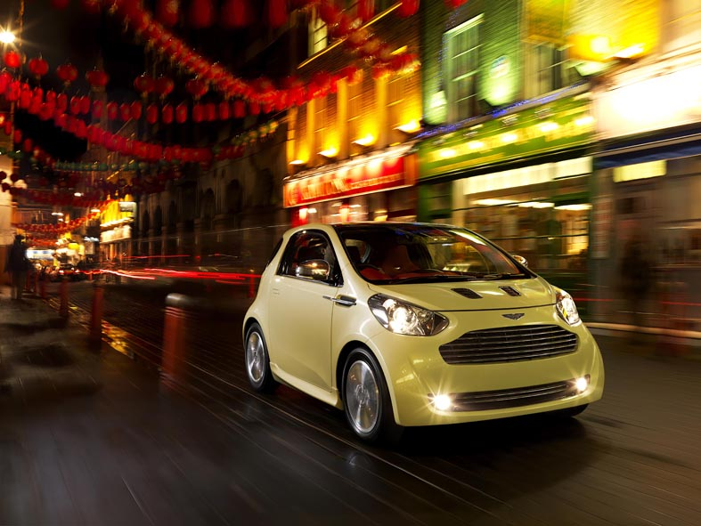 ASTON MARTIN CYGNET CONCEPT: THE LUXURY COMMUTER CAR