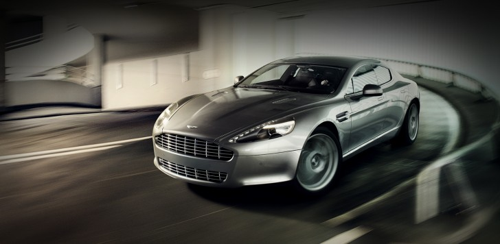FIRST ASTON MARTIN RAPIDE BOUND FOR CUSTOMERS