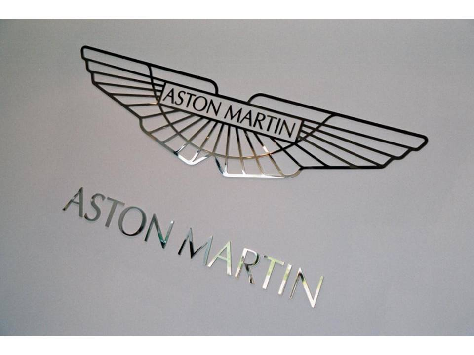 AstonMartin Logo silver