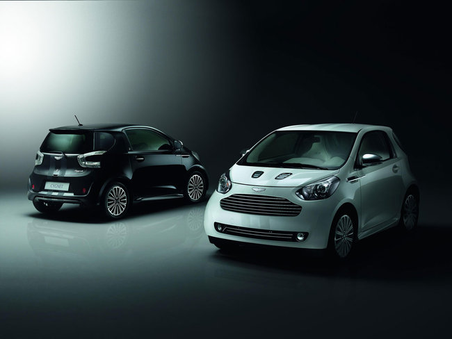 ASTON MARTIN  CYGNET LAUNCH EDITIONS: WHITE & BLACK