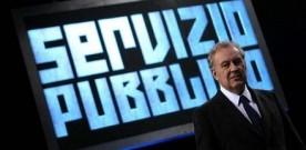 "AUDISOCIAL TV (11-18 GEN) – ""SERVIZIO PUBBLICO"" VINCE SETTIMANA SUI SOCIAL"