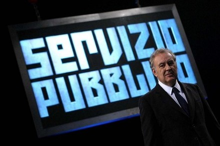 "AUDISOCIAL TV (11-18 JAN) - ""SERVIZIO PUBBLICO""  TOP PROGRAM OF THE WE..."