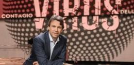 """AUDISOCIAL TV:  GOOD START FOR """"VIRUS'' (RAI2)"""
