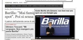 BARILLA E I GAY, TANTO RUMORE PER NULLA, PROPRIO COME PIACE A NOI ITALIANI
