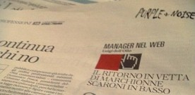"Repubblica Affari & Finanza, ""MANAGER ON THE NET"": MARCHIONNE IS BACK, ON THE TOP"