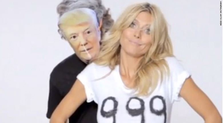 TRUMP (USA) | NEUTRALIZE HIM? SEE HOW FROM HEIDI KLUM