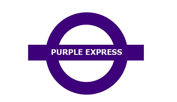 "PURPLE & NOISE PR LAUNCHES ""PURPLE EXPRESS A/R"""