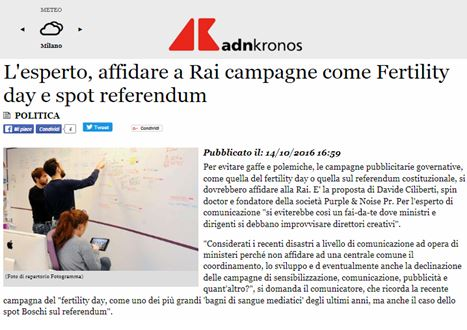 ADVERTISING OF IT GOV., LET'S GIVE THEM TO RAI TV by Davide Ciliberti