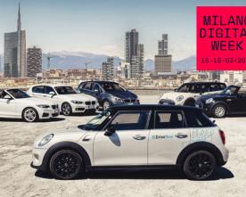 """AL VIA LA """"MILANO DIGITAL WEEK"""": CON DRIVENOW PER SPERIMENTARE LA SMART MOBILITY"""