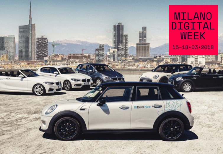 """MILANO DIGITAL WEEK"" STARTS, WITH DRIVENOW TO EXPERIENCE SMART MOBILITY"