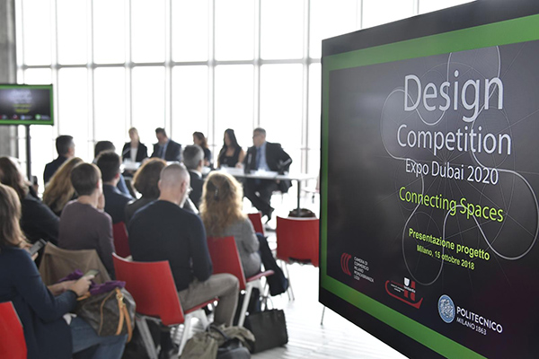 """DESIGN COMPETITION"" STARTING FROM MILAN AND LANDING TO EXPO..."