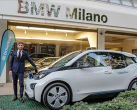 DRIVENOW (BMW GROUP) CELEBRATES HIS 2nd ANNIVERSARY IN MILAN (ITALY)