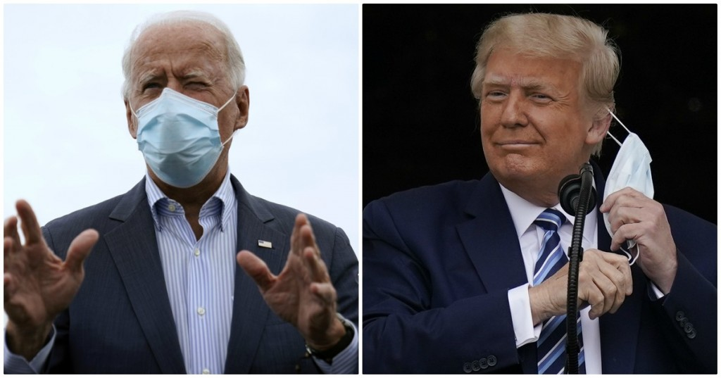 USA 2020, TRUMP-BIDEN: 'ZAPPING NIGHT' , DECISIVI 'SPLIT SECOND' E STR...