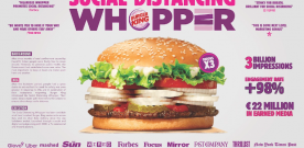 ADCI AWARDS 2020: IL GRAND PRIX A WUNDERMAN THOMPSON PER LA CAMPAGNA BURGER KING
