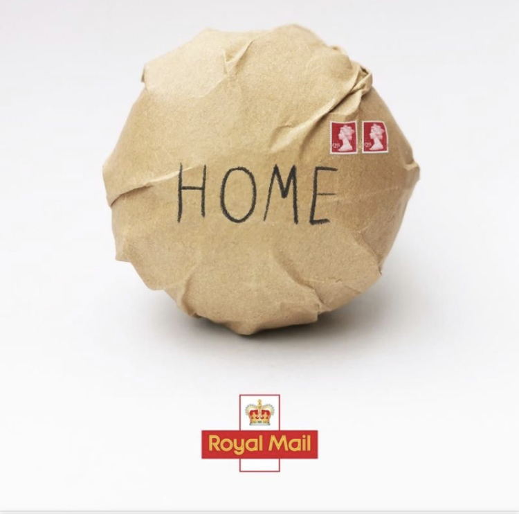 EURO 2020: AND ROYAL MAIL'SEND US HOME', WITH TWO 'STAMPS'.